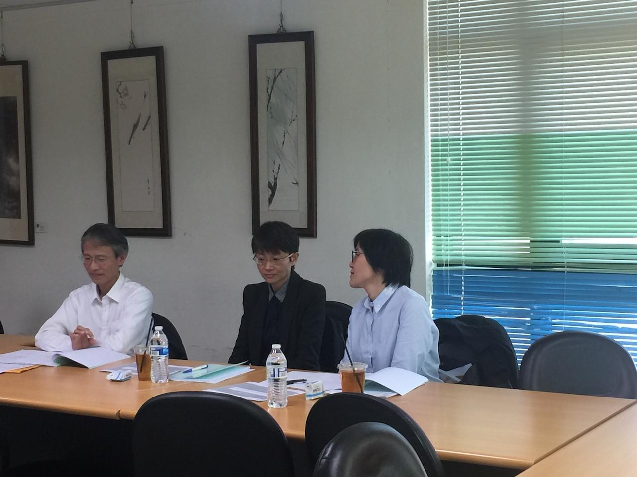 01/24 研究生鄭妮妮同學 Proposal 口試